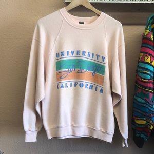 Vintage 80s UC sam diego sweater